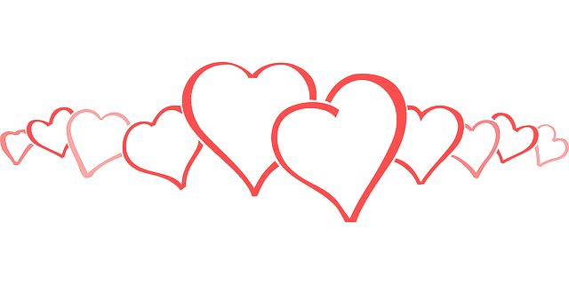 valentines day hearts clip art free