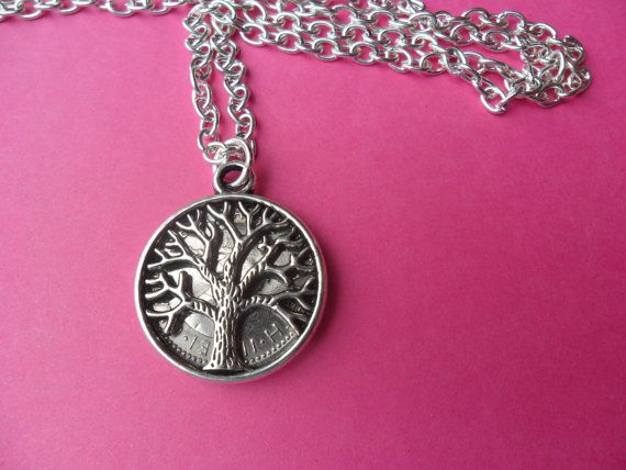 60th birthday present 1956 silver sixpence necklace by staffscoins
