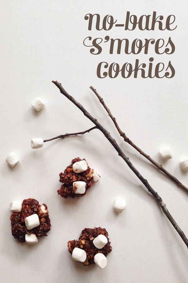 No-Bake S'mores Cookies | Recipe | No bake desserts ...