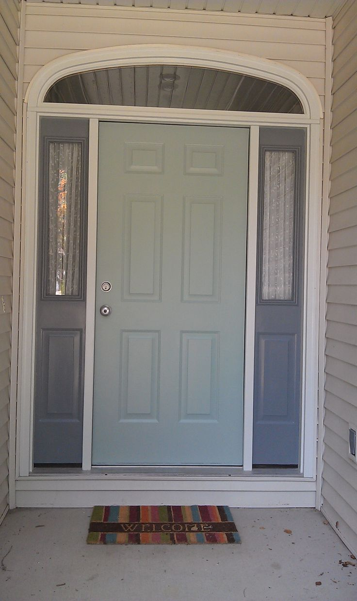 Benjamin Moore Wythe Blue And Shaker Gray Paint Shades