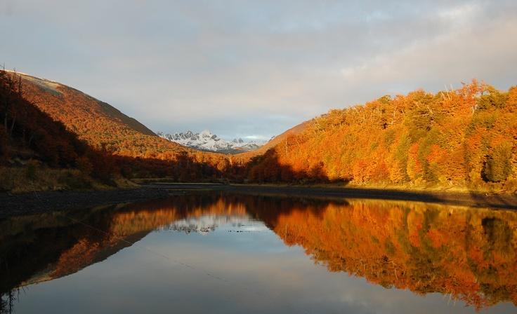 Autumn, Puerto Williams