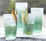 "$28.00 Sea Glass Outdoor Drinkware, Set of 4, 22oz 6"" tall 