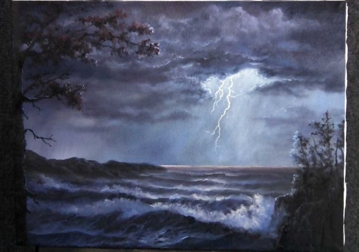 Create this lighting painting along with Kevin Hill! For ...