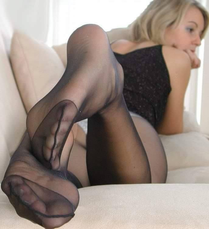 Womens Sexy Nylon Foot 37