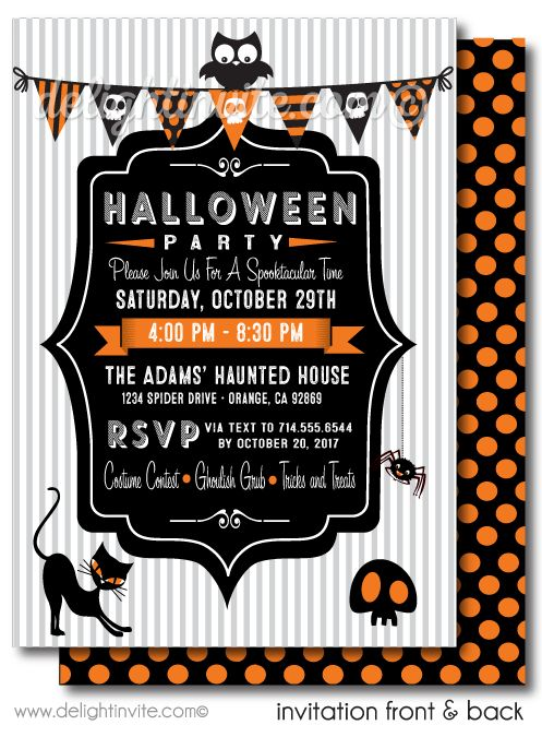 best 25+ halloween birthday invitations ideas on pinterest, Party invitations