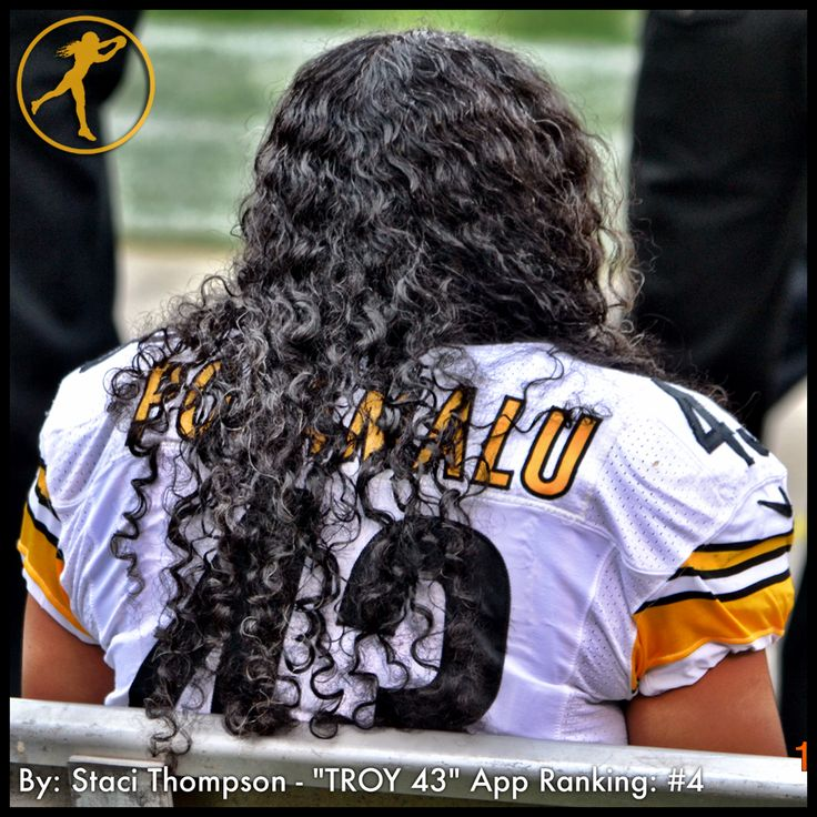 Legendary Playmaker Icon Troy Polamalu Top 10 photo by Troy 43 app member Staci Thompson. #Steelers