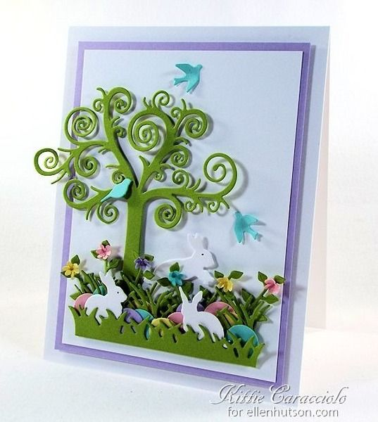 82 best Kittie 747 cards images – Boxed Easter Cards