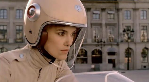 Les Ateliers Ruby Belvedere helmet. I really, really love that futuristic visor.