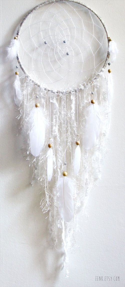 this calls to me ....... we can do this with all of our wonderful paper designs, right? DIY dream catcher