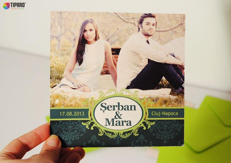 Invitatii de nunta personalizate de la tiparo.ro: