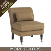 leyland slipper chair $299