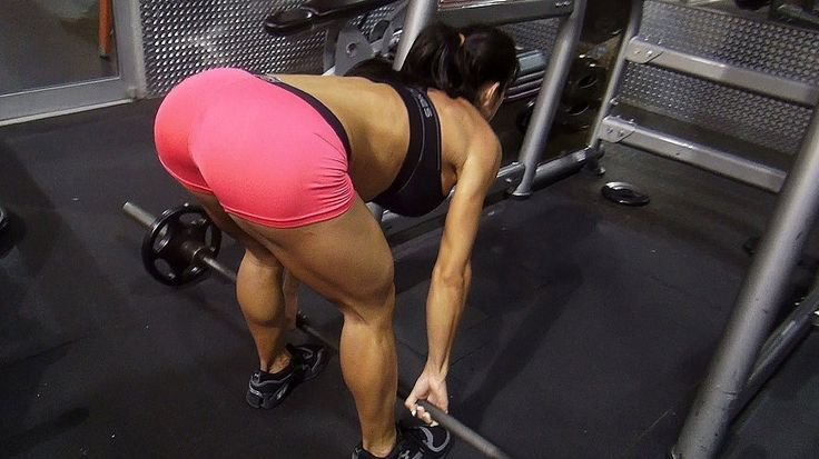 Womens BUTT Building Workout in the Gym!! Part 2 Michelle Lewin