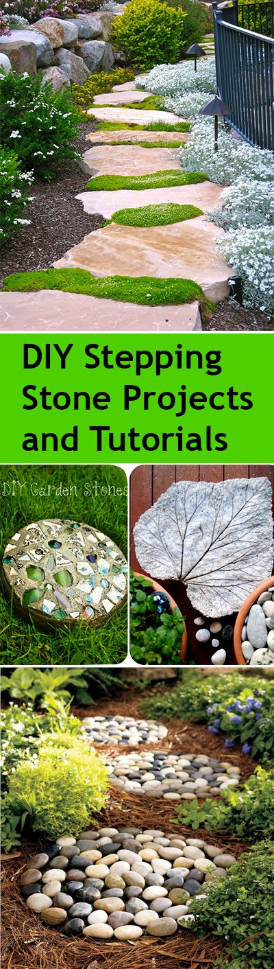 DIY Stepping Stone Projects and Tutorials