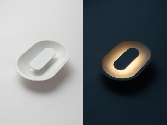 Developed by LED Enterprise of Japan, Huug is a unique lighting fixture in the shape of an oval with LED illuminants which are only a few millimeters wide so they can be tucked away from the surface of the light, hidden from sight.