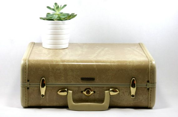 luggage hardware vintage