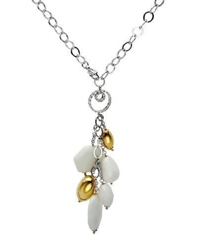Superb Necklace With  Precious Stones