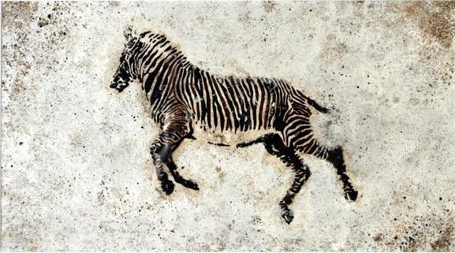 Pino Pascali (1935-1968) Zebra, 1964. http://www.yekibud.es/2013/06/14/la-cebra-cuentista/
