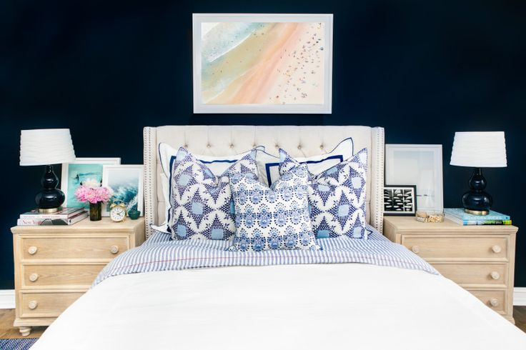 Navy Blue Bedside Table: 17 Best Images About // Design Eye Candy On Pinterest