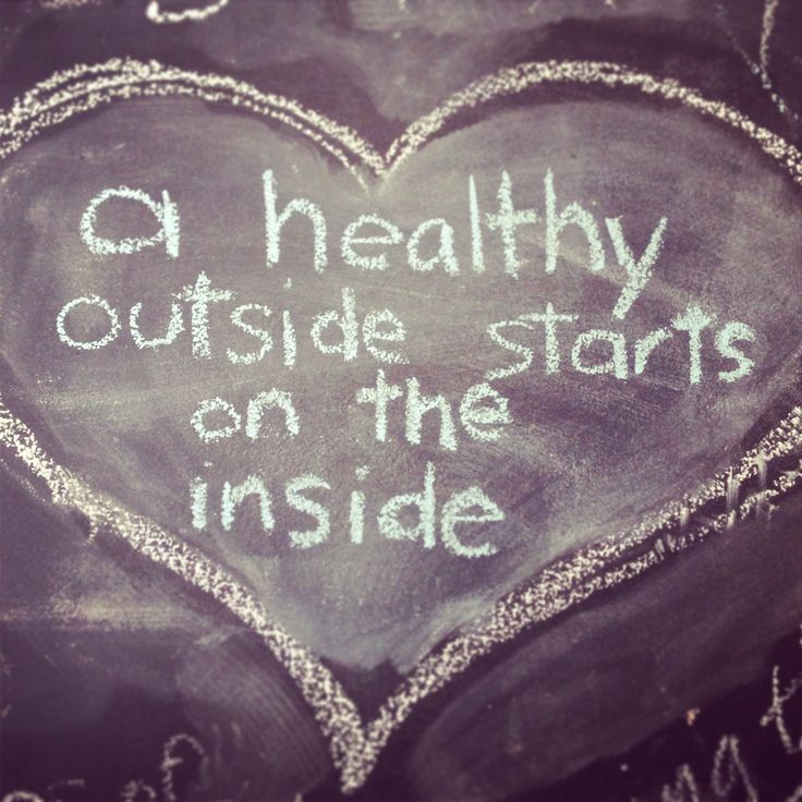 Healthy outside starts on the inside www.mothernourish.com