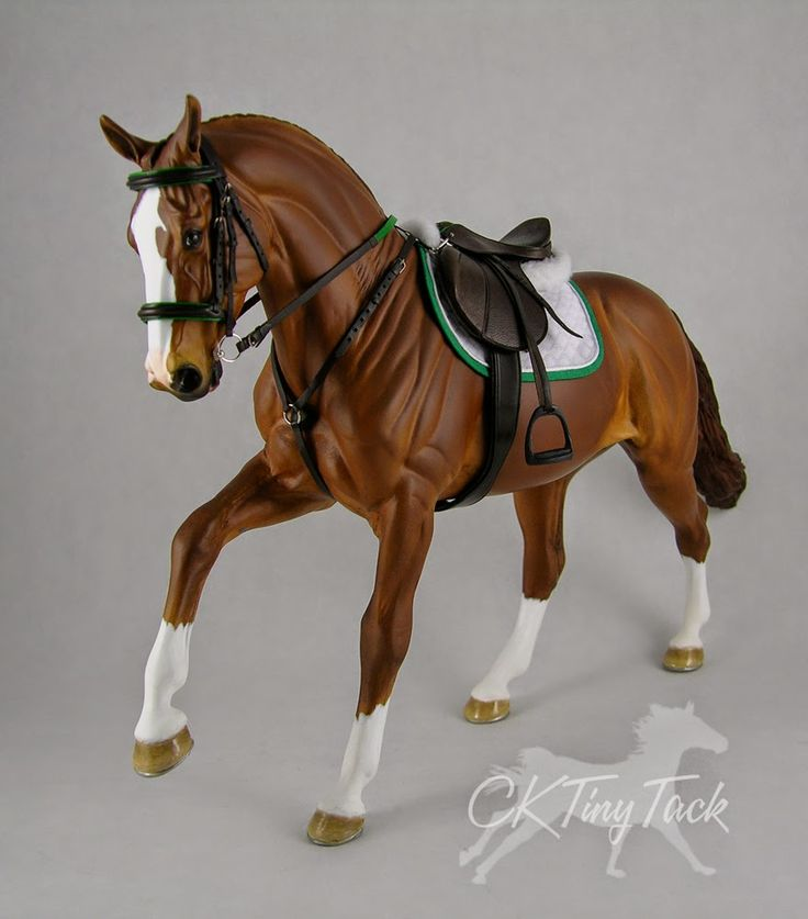 Tackmaker Cristina Brown - CK Tiny Tack - model horse