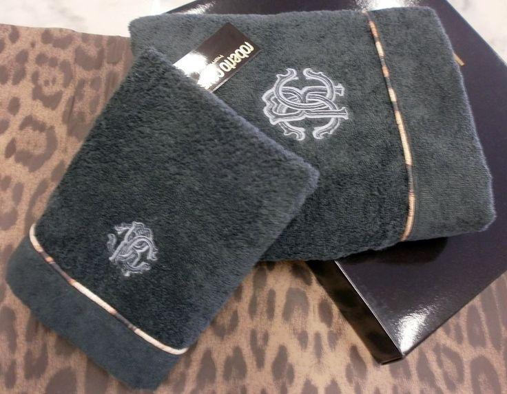 Roberto Cavalli Home, coppia asciugamani Basic