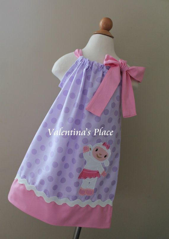 Super Adorable Doc McStuffin's Lambie inspired by Valentinasplace, $32.00
