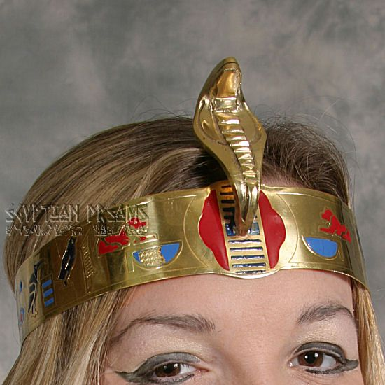 how to make an egyptian double crown