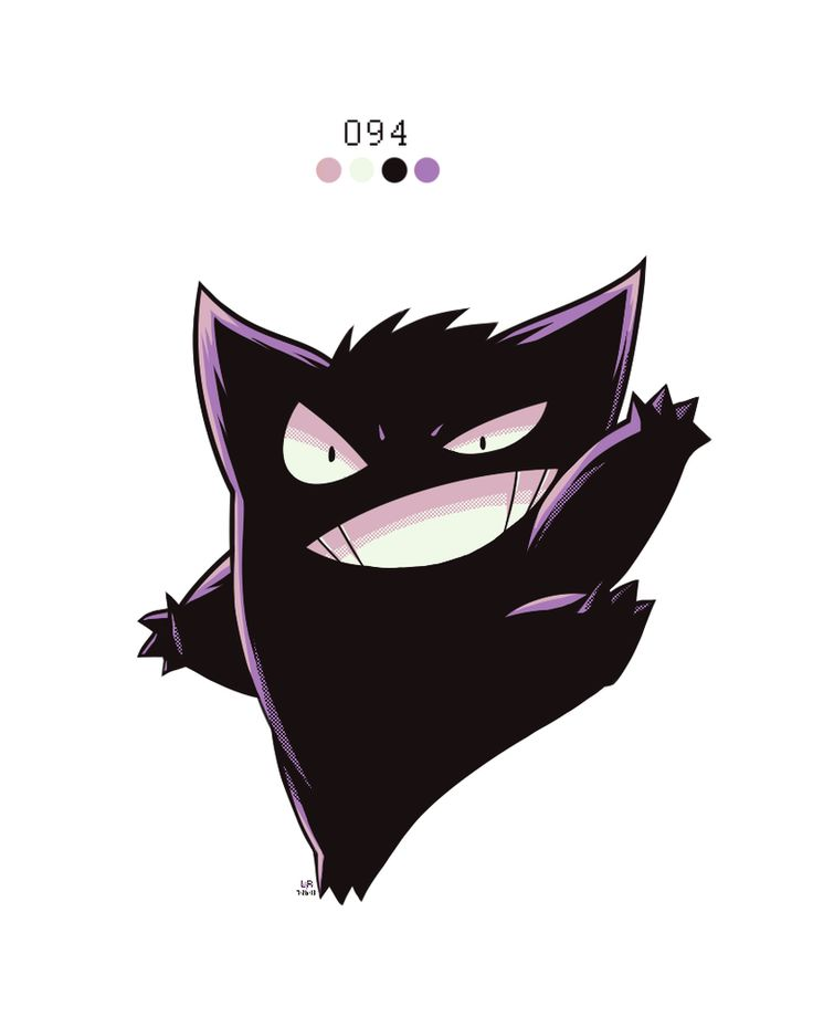 094. Gengar by Rock-Bomber