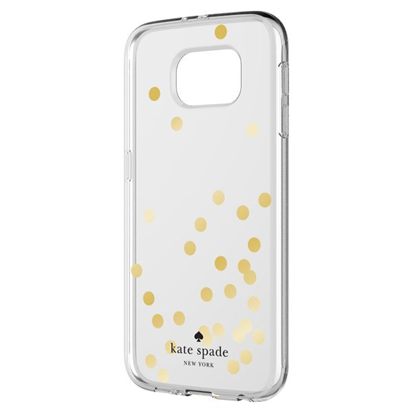 timeless design 0c3bc 4e8e7 kate spade new york Hardshell Clear Case for Samsung Galaxy S7 edge ...
