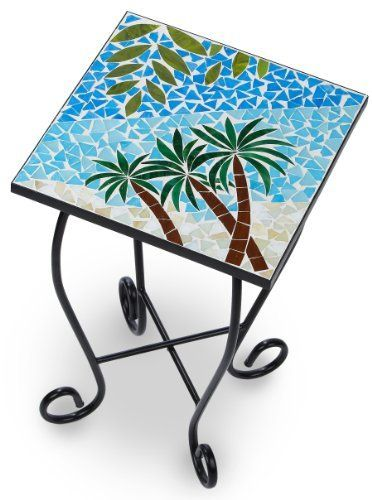 Palm Island Home Palms Mosaic Accent Table by Palm Island Home, http://www.amazon.com/dp/B007AXSHE6/ref=cm_sw_r_pi_dp_nZ4-qb05HHT3J