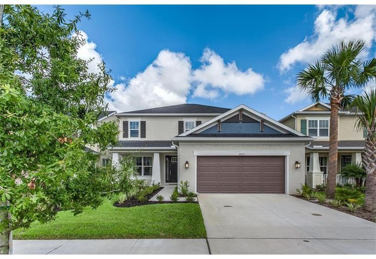 The Palms at Citrus Park is one of Tampa Bay's newest, premier gated neighborhoods. This Taylor Morrison home is better than new, built in 2015, with $75,000 in CUSTOM upgrades. Showcasing 4 bedrooms, 3.5 baths + Den (can be 5th bedroom) & Bonus Loft; this home is perfect for entertaining. The fully upgraded kitchen includes Zodiac Quartz counters, White Shaker cabinets with soft close drawers, Carrera Marble Backsplash & industrial faucet, Built-in wall oven with Gas Cooktop, Kitchen Aid…