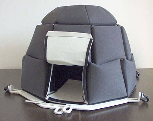12.) Now here's a sturdy, warm, and waterproof igloo tent to take on your cold weather trips!