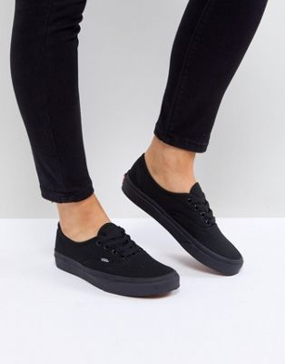 0b9dabba77 Vans Authentic sneakers in all black in 2019