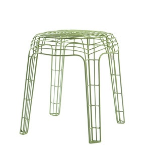 Wire Stool Green, £89, now featured on Fab.