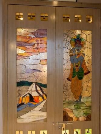Image result for pooja room designs | Room door design ...