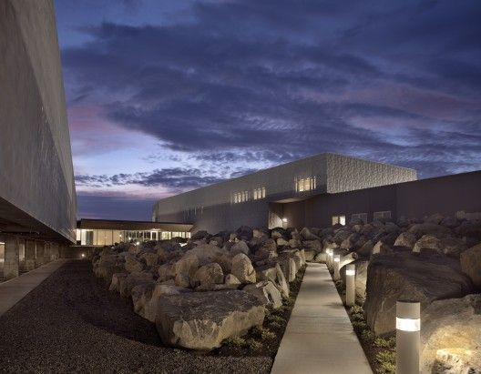 U.S. Commercial Port of Entry & Border Station / Robert Siegel Architects | ArchDaily