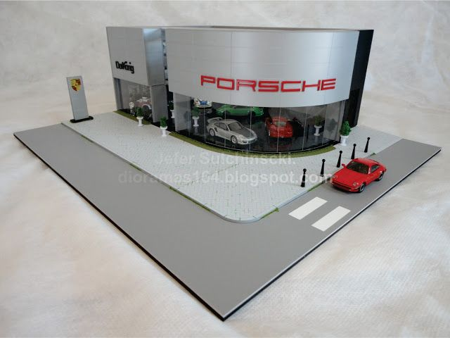 Diorama Porsche Dealers - Jefer Sulchinscki - Out/2012