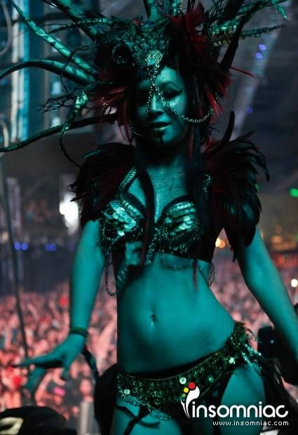 insomniacevents:  Creatures of the night, delight… at Nocturnal Wonderland!