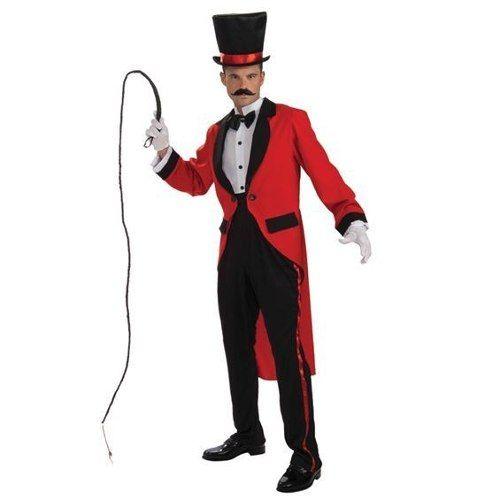 lion tamer traje - adultos homens do anel do circo mestre