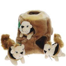 Dog Toy, Hide A Squirrel