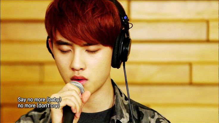 Global Request Show : A Song For You - Baby, Don't Cry by EXO (2013.08.30)....Wow! all the boys sing well!!!...I love how adorable D.O seems to be in his own little world. Baekhyun has powerful vocals, Chanyeol's flow is soothing, isn't that an Odd thing to say about a rapper? Suho, is an expressive singer and I rather love that he shows his passionate color. though he tries to hide it due to teasing by bandmates.