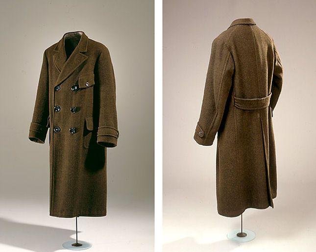 Men's Coat. It belonged master builder Peter Christian Christiansen (1883-1968), Elsinore.  1913  Denmark