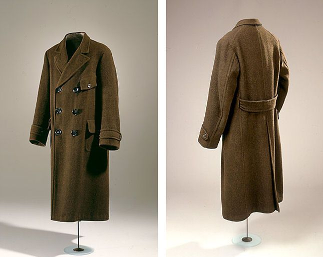 Men's Coat. It belonged master builder Peter Christian Christiansen (1883-1968), Elsinore.  1913  Denmark