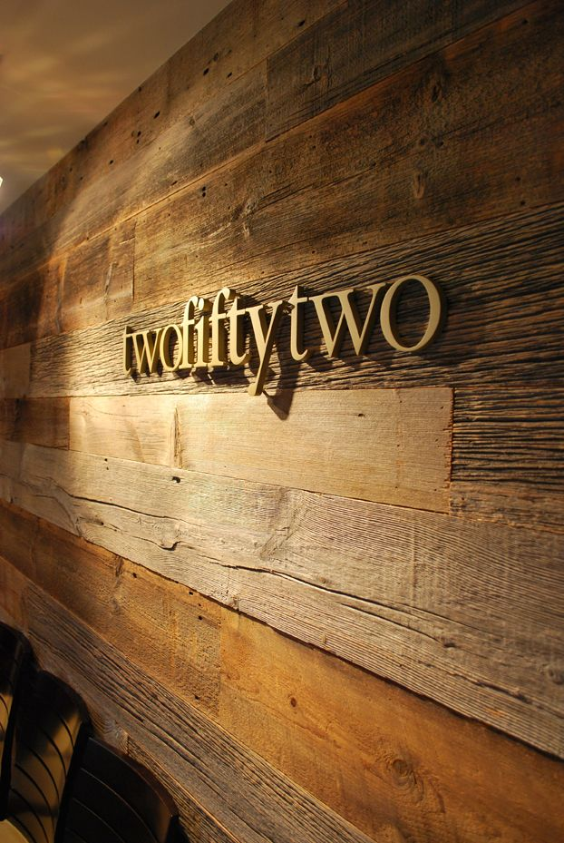 Letters On Reclaimed Wood: The Similar Colors Really Help The Sign Display  Fit Into Itu0027s Surroundings. | Unique Sign Designs | Pinterest | Sign  Display, ...