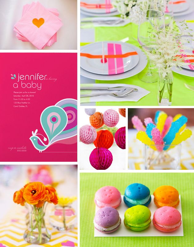 colorful baby shower decorations. Happy Fridays  Baby Shower Inspiration Colorful Best 25 baby showers ideas on Pinterest Diaper shower