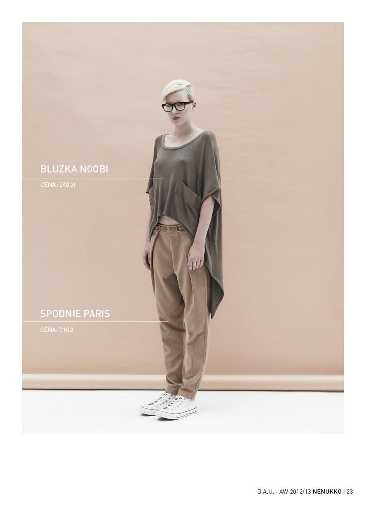 NOOBI shirt PARIS trousers D.A.U. collection   http://nenukko.com/shop/