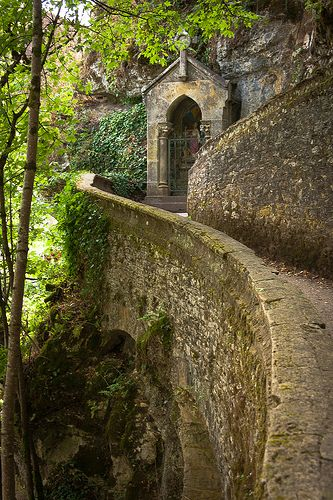 Medieval Architecture - Rocamadour, France