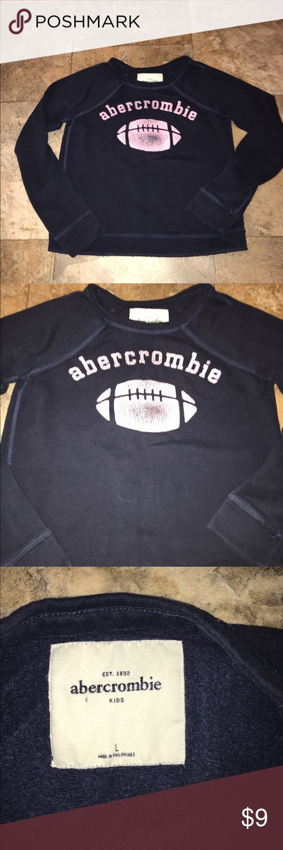 Abercrombie girls sweatshirt large EUC Abercrombie girls sweatshirt large EUC abercrombie kids Shirts & Tops Sweatshirts & Hoodies