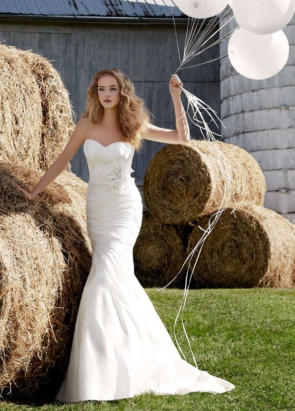 Jim Hjelm Blush Bridal Gowns, Wedding Dresses Style 1200 by JLM Couture, Inc.