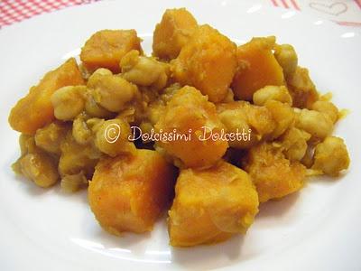 Curry di ceci e zucca